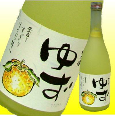 【ホワイトデー】【梅乃宿酒造】ゆず酒.8°720mLの商品画像