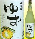 梅乃宿 ゆず酒 8°1800mL