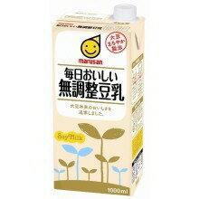 【豆乳】マルサンアイ毎日おいしい無調整豆乳1000mL1ケース6本