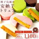 【種子島純産安納芋】安納芋トリュフ【5個入】【冷蔵】【バレンタイン】【チョコレート】