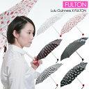 ショッピングコンパクト FULTON フルトン 傘 折りたたみ傘 雨傘 Lulu Guinness ルルギネス ハンドバックサイズ レディース傘 L717 Tiny-2