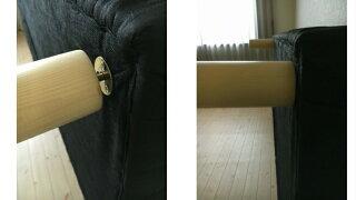 脚付きマットレスシングルサイズ一体型体圧分散ボンネルコイル仕様脚付きマットレスNEWルラン