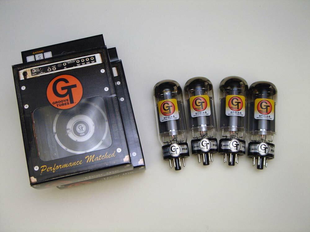 6L6S QT (マッチドカルテット) 4本セット販売 パワー管 ヨーロッパ製真空管 グルーブチューブ 攻撃的でダイナミックなサウンド。パワフルなテイストの6L6真空管 【送料無料】【smtb-u】 【あす楽対応_関東】