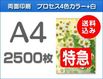 【特急便】A4クリアファイル2500枚(単価36.4円)