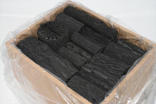 【茶道具】炉用くぬぎ炭組炭 小箱(約3点前分)※送料無料!