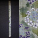 "麻細 tapestry ""hydrangea"" (hanging scroll, Japanese-style tapestry) [early summer, rainy season / hydrangea, hydrangea / flower] [easy ギフ _ packing choice] [comfortable ギフ _ expands an address]"