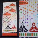 "A Japanese towel tapestry ""ready-made young bird"" (タペ stick set) [spring / fledgling, the young bird / Girl's Festival / Doll's Festival, young bird Festival / event / Japanese towel / hanging scroll] (packing, auspicious decoration for gifts impossibility)"