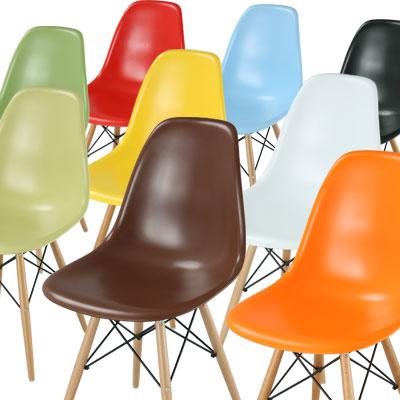 【クーポンで500円引き】 イームズ イームス イームズチェア イス チェアー 椅子 いす パソコンチェア オフィスチェア ミッドセンチュリー パーソナルチェア デザイナーズ Eames ホワイト 白 ブラック 黒 おしゃれ チェア