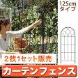 カーテンフェンス UVカット 目隠し ガーデンフェンス エクステリア diy 植物 トレリス グリーンカーテン フェンス 日よけ メッシュ ガーデン 緑のカーテン アイアン製 ガーデンファニチャー 屋外 おしゃれ ロータイプ 10P07Feb16