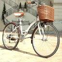 【 クーポンで2,638円引き 】 折りたたみ自転車 26イ...