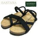 アルコペディコ サンダル ARCOPEDICO エリオさんの靴サルーテライン サンタナ SANTANA (ブラック)ポルトガル製 靴