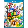 【新品】WiiU スーパーマリオ3Dワールド【メール便発送可。送料¥200。着日指定・代引き不可】
