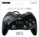【新品】Wii クラシックコントローラPRO クロ