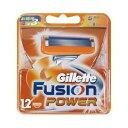 【P&G】【Gillette】ジレット フュージョン5+1パワー 5枚刃専用替刃12個入 【男性用髭剃り】【男性用カミソリ】