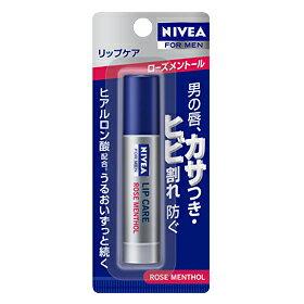 ニベアフォーメン 薬用 リップ ローズメントール 3.5g