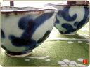 【お茶の時間を楽しみましょ♪】たたら茶碗。蛸唐草(1客)