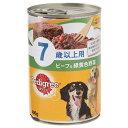 ペディグリー 7歳以上用 ビーフ&緑黄色野菜 400g ドッグフード 高齢犬用 8缶 お一人様6点限り 関東当日便
