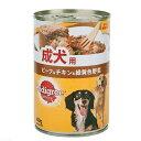 ペディグリー 成犬用 ビーフ&チキン&緑黄色野菜 400g ...