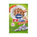 日本ペット コンボ キャット 肥満が気になる猫用 かつお味 鮭チップ かつお節添え 700g(140g×5パック入り) 関東当日便