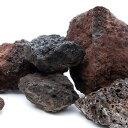 富士ノ溶岩石 S・Mサイズミックス(約4〜15cm) 5kg 関東当日便
