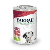 YARRAH(ヤラー) ドッグディナービーフ チャンク缶 405g 正規品 ドッグフード 関東当日便