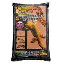 GEX エキゾテラ デザートサンド レッド 5.5kg 爬虫類 底床 敷砂(陸棲用) 関東当日便