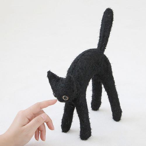 CAT,CAT,CAT!オブジェソージュ ココア...の商品画像