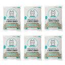 箱売り 天然ひのきでつくった 小動物の消臭砂 7L 1箱6袋  うさぎ フェレット トイレ砂 関東当日便