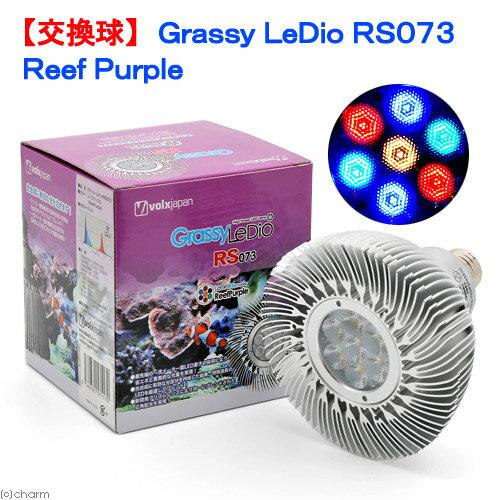 交換球 ボルクスジャパン Grassy LeDio RS073 ReefPurple 水槽用照明 LEDライト 海水魚 サンゴ 関東当日便