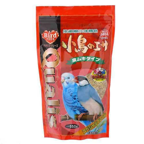 クオリス スペシャルブレンド小鳥のエサ(皮ムキタイプ) 550g 鳥 フード 餌 えさ 種 穀類 関東当日便
