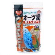 クオリス オーツ麦(殻ナシタイプ) 350g 鳥 フード 餌 えさ オーツ麦(燕麦) 6袋入り【HLS_DU】 関東当日便