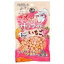 ペッツルート 小粒なごほうびふかしサツマイモいちご入り 80g 犬 おやつ 関東当日便
