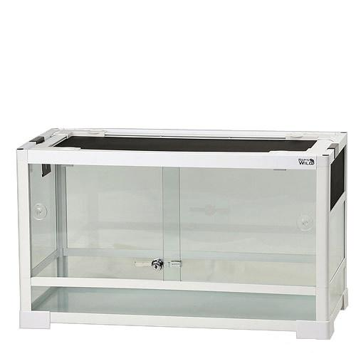 三晃商会 SANKO パンテオン ホワイト WH6035(60.5×30.5×35cm) 爬虫類 飼育 ケージ ガラスケージ 関東当日便
