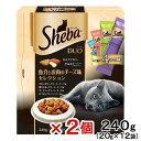 シーバデュオ 魚介とお肉のチーズ味セレクション 240g 2個 お一人様12点限り【HLS_DU】 関東当日便