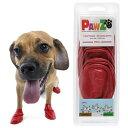 犬 靴 Pawz ラバードッグブーツ S レッド 犬用 関東当日便