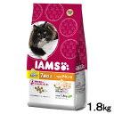 毛玉ケア アイムス シニア猫用 7歳以上 うまみチキン味 1.8kg 正規品 キャットフード アイムス IAMS 高齢猫用 関東当日便