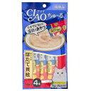 いなば CIAO(チャオ) ちゅ〜る まぐろ&ほたて貝柱 14g×4本 お買い得6袋入り 猫 おやつ CIAO チャオ ちゅーる 関東当日便