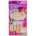 いなば CIAO(チャオ) ちゅ〜る 11歳からのとりささみ 14g×4本 お買い得6袋入り 関東当日便