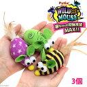 ペティオ ワイルドマウス カラフルテールマウス 3個セット 猫 猫用おもちゃ ねずみ 関東当日便