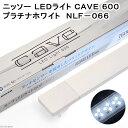 ニッソー LEDライト CAVE 600 プラチナホワイト 60cm水槽用照明 ライト 熱帯魚 水草 関東当日便
