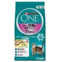 ピュリナワンキャット 優しく腎臓の健康サポート 11歳以上 チキン 2.2kg 超高齢猫用 関東当日便