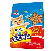 箱売り ミオ おいしくって毛玉対応 かつお味 2.7kg キャットフード ミオ お買い得5袋入 関東当日便