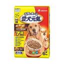 ユニ・チャーム 愛犬元気 7歳以上用 ビーフ 6.0kg 国産 ドッグフード 総合栄養食 高齢犬用 関東当日便