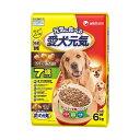 ユニ・チャーム 愛犬元気 7歳以上用 ささみ 6.0kg 国産 ドッグフード 総合栄養食 高齢犬用 関東当日便