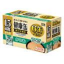 箱売り アイシア 15歳からの健康缶 かつお 40g×6P 猫 フード お買い得12個入 超高齢猫用 関東当日便