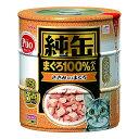 箱売り アイシア 純缶 ささみ入りまぐろ 125g×3P 猫 フード お買い得18個入 関東当日便