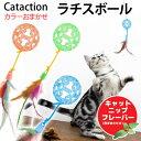 JW キティラチスボール(色おまかせ) 猫 おもちゃ 関東当日便