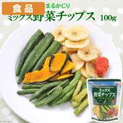 食品 ミックス野菜チップス 100g 関東当日便