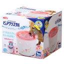 GEX ピュアクリスタル 小型犬用 2.3L ガーリーピンク 関東当日便
