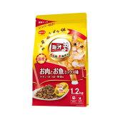 箱売り ミオ ドライミックス お肉とお魚ミックス味 1.2kg キャットフード ミオ お買い得9袋 関東当日便
